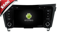 Android 6.0 For NISSAN QASHQAI 2014-2017 (W2-K7964B)