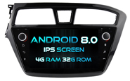 Android 8.0 Deckless For HYUNDAI I20 2015 (For Left Hand Driver) (W2-V5566L)
