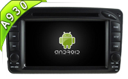 Android 9.0 For MERCEDES-BENZ C CLASS W203 (W2-RD5513)