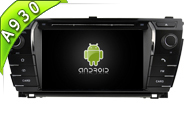 Android 9.0 For TOYOTA COROLLA 2014 (W2-RD5781)