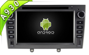 Android 9.0 For PEUGEOT 408 2010-2011 (W2-RD5634S)