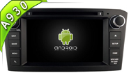 Android 9.0 For TOYOTA AVENSIS 2005-2007 (W2-RD5587B)