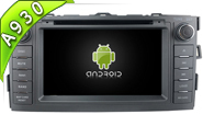 Android 9.0 For TOYOTA AURIS 2008-2012 (W2-RD7666)