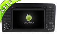 Android 9.0 For MERCEDES-BENZ ML-W164/GL-X164 (W2-RD7608)
