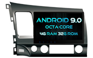Android 9.0 For HONDA CIVIC 2007-2011 (W2-RV5327)