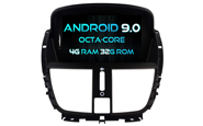 Android 9.0 For PEUGEOT 207/207CC 2007-2014 (W2-RV5395)