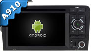 Android 9.0 For AUDI A3 2003-2013 (W2-RVF7623)