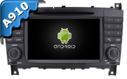 Android 9.0 For MERCEDES-BENZ C CLASS (W2-RVF7613)