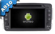 Android 9.0 For MERCEDES-BENZ C CLASS W203 (W2-RVF7612)