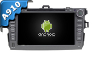 Android 9.0 For TOYOTA COROLLA 2006-2011 (W2-RVF7630)