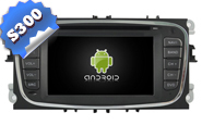 Android 9.0 For FORD Mondeo/Focus/S-max Black Frame (W2-RL003B)