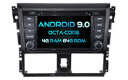 Android 9.0 For TOYOTA YARIS 2014 (W2-RVF5752)