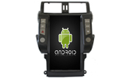 Android 8.1 For For TOYOYA PRADO 2010-2013 HIGH (TZ1817)
