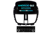 Android 9.0 For PEUGEOT 207/207CC 2007-2014 (W2-RVF5395)