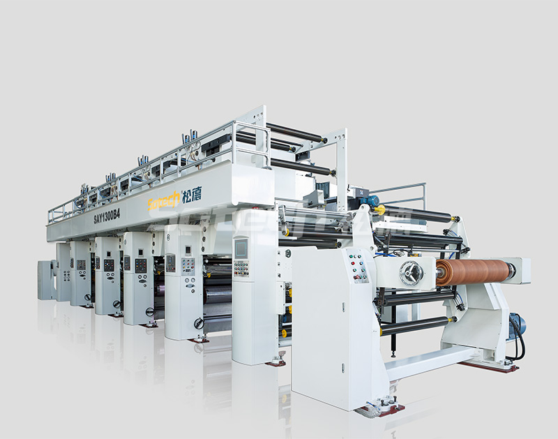 SAY1300B4 Rotogravure Printing Machine for Woodgrain Paper