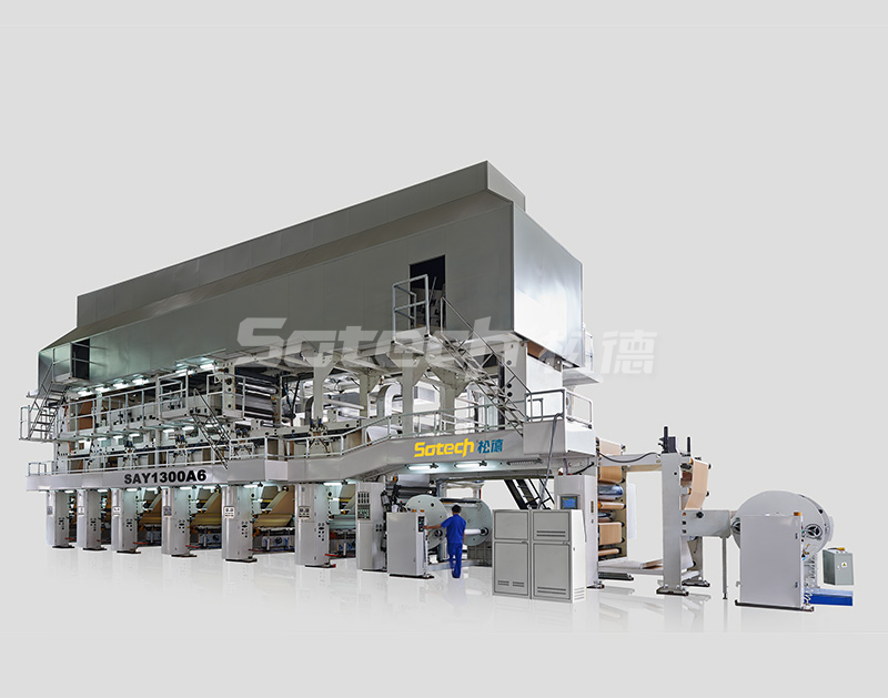 SAY1300B6 Rotogravure Printing Machine for Poly Paper