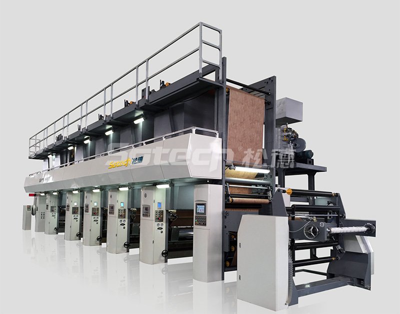 SAY-C Rotogravure Printing Machine for Decorative Paper