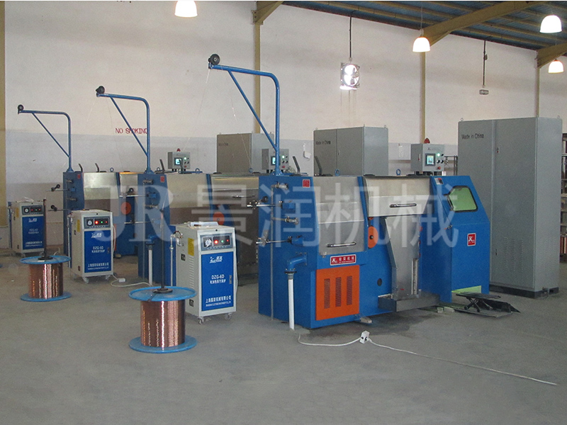Copper Fine Wire Drawing Machine with Annealer