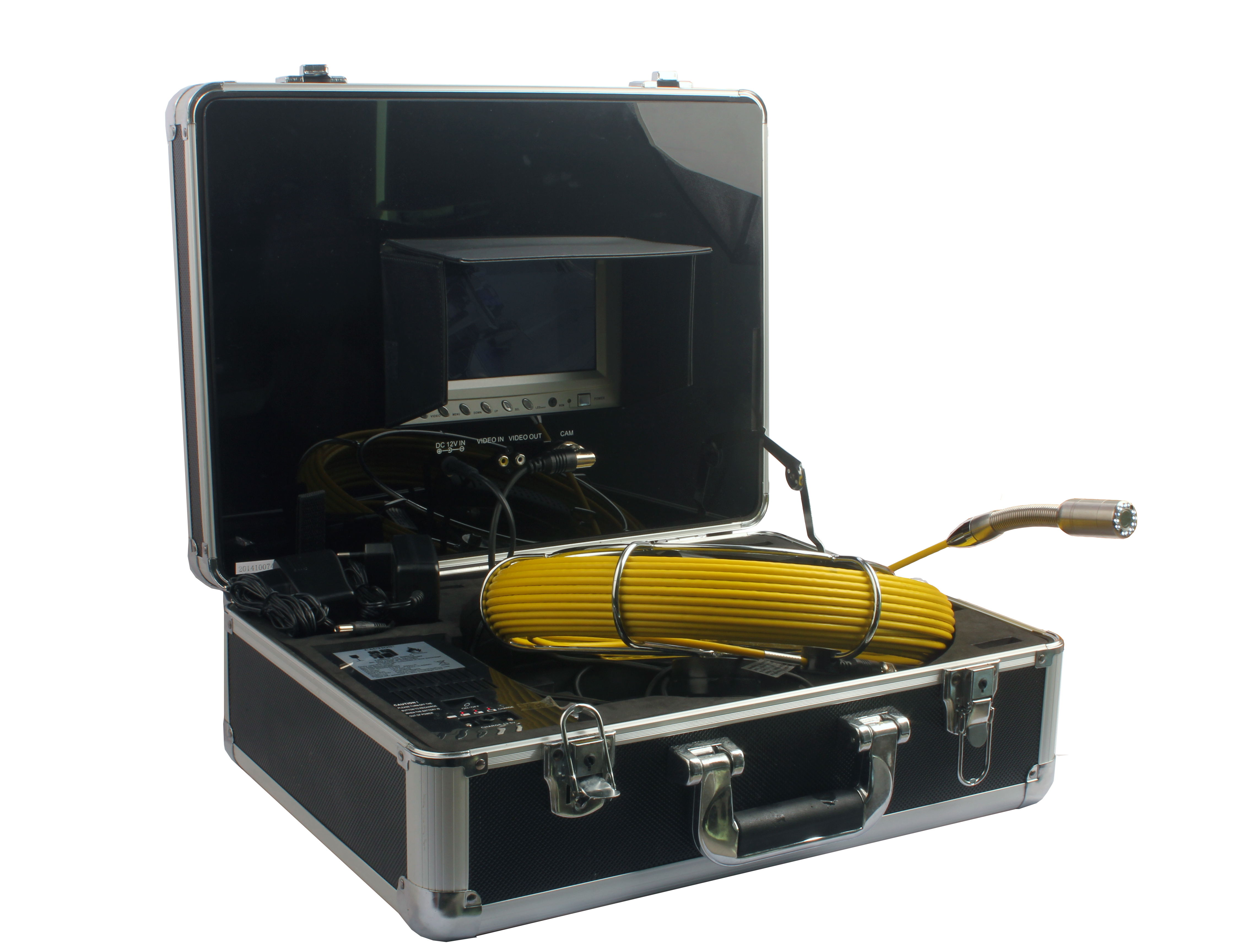 Witson 20M Cable Pipe Drain Sewer Video Inspection Camera System
