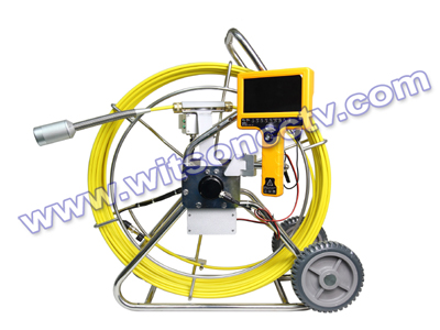 60-120M Pipe drain sewer Inspection camera with integrated LCD Monitor DVR Controller