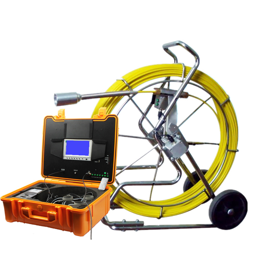Pipe Drain Sewer Inspection Camera with 60m and 120m Cable