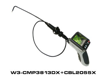 Witson 2-way Rotation Endoscope Inspection Camera with detachable screen