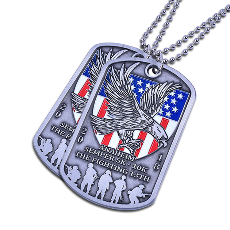 Military Style Dog Tags Made To Order Great For Gifts
