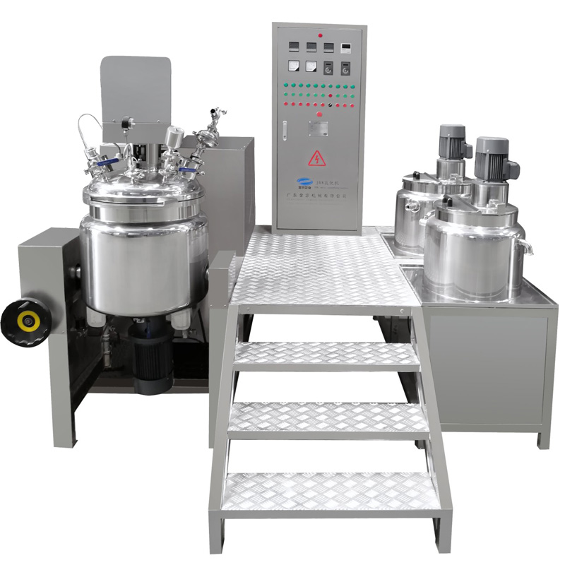 Tilting Vacuum Homogenizing Emulsifying Mixer