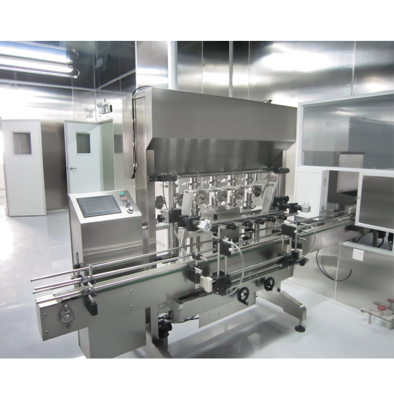 Automatic Cream And Liquid Filling Line