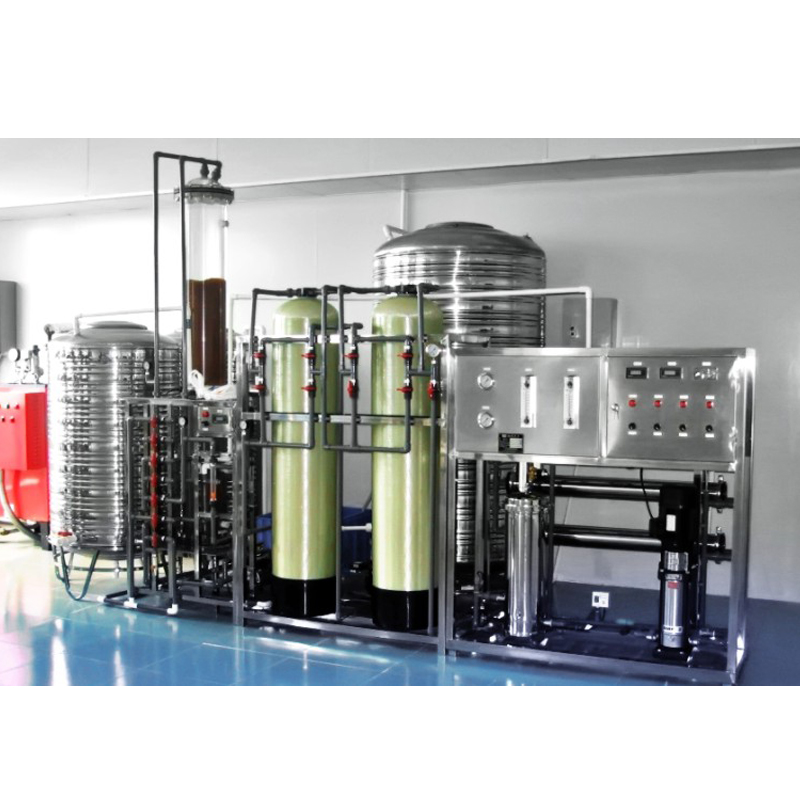 JRO One Stage Reverse Osmosis Water Treatment With Anion-Cation Mixing Bed