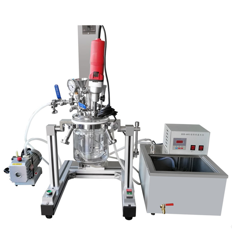 MLR Multuifunctional laboratory vacuum emulsifying mixer (complete set)