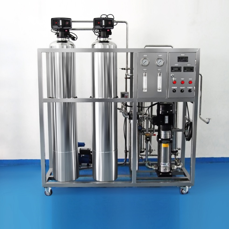 Fully automatic first-stage reverse osmosis water treatment (all stainless steel)
