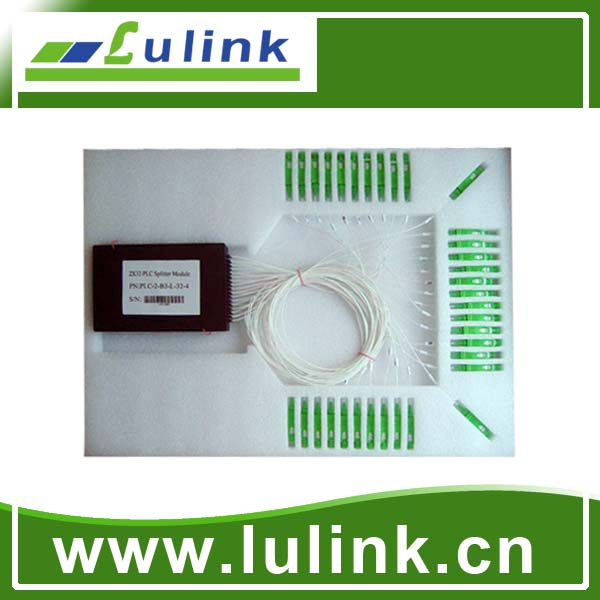 PLC splitter modules 2*32,SC/APC