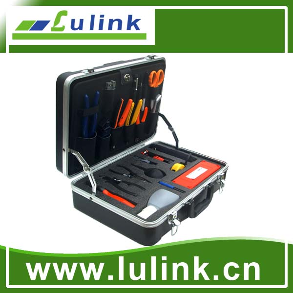 Deluxe Fiber Optic Fusion Splicing Tool Kit