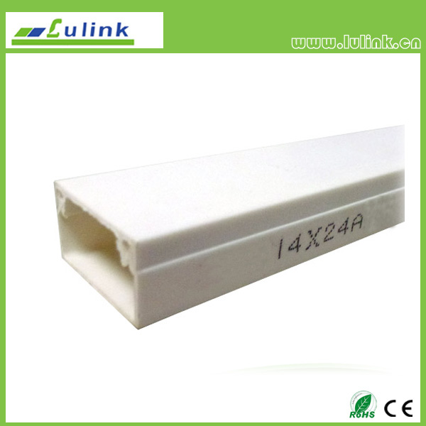 LK-PVCTK017.  PVC cable trunking   14*24AMM