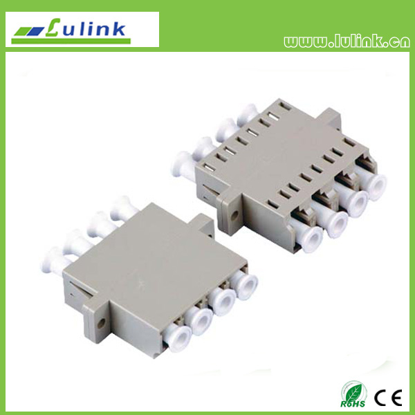 LC Fiber Optic Adapter MM 4 PORT