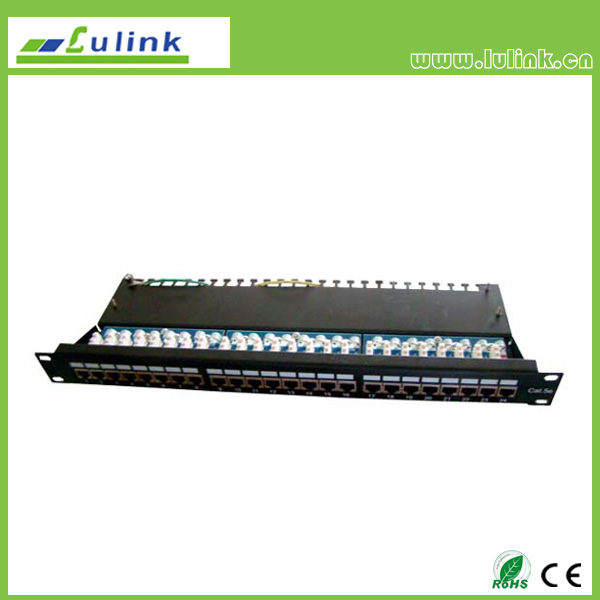 Cat5e FTP 24 PORT Patch Panel (krone End)