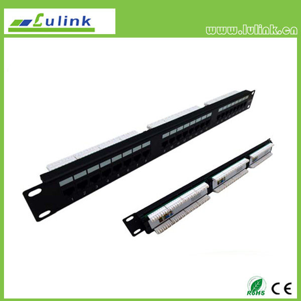 Cat5e UTP 24 PORT Patch Panel (3 Equal Part)