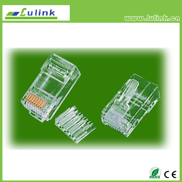 Cat6 UTP RJ45 8P8C Plug Two roll Two branchs