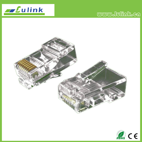 Cat6 UTP RJ45 8P8C Plug   one roll Two branchs