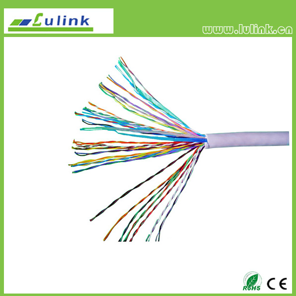CAT5E 25PAIRS UTP INDOOR LAN CABLE  ,SOLID