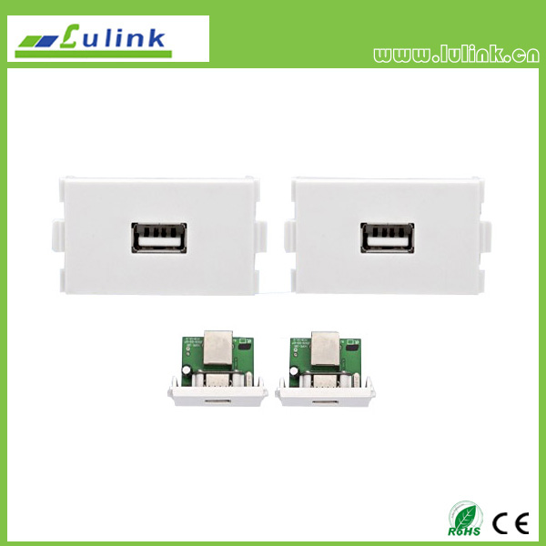 USB amplification wall plate