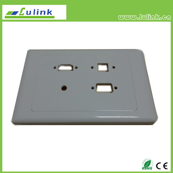 UK/British Type 146 Wall plate/Faceplate ITEM ONE: