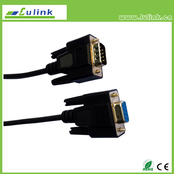 DB9 M TO DB9 FEMALE CABLE