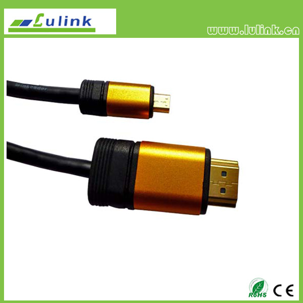 HDMI  M to micro HDMI M  Cable