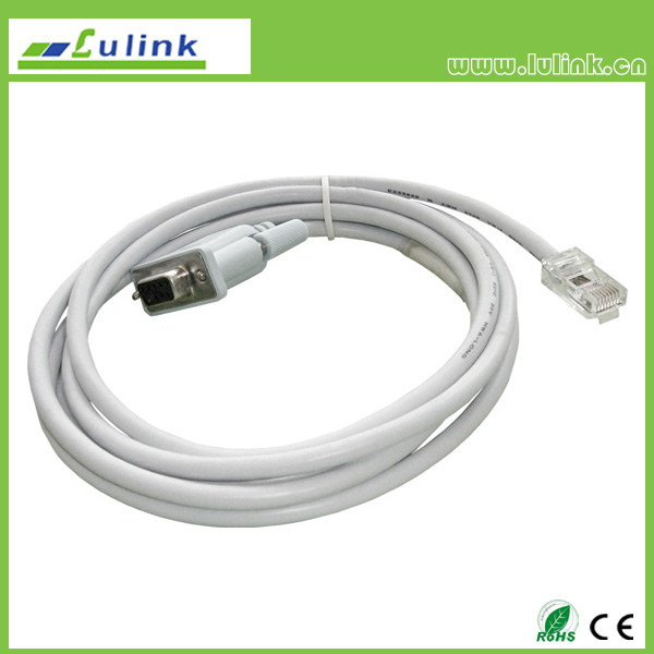 RJ45 M TO DB9 M cable