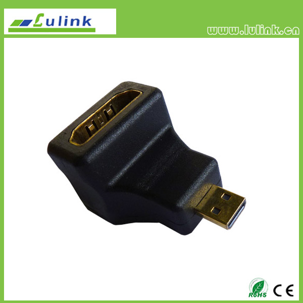 90°HDMI AM to  micro (D ) M  Adapter