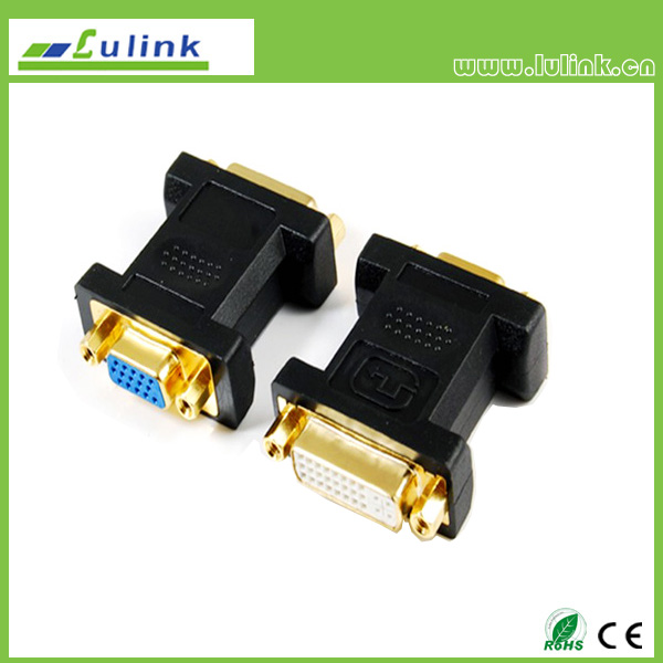 VGA FEMALE TO DVI(24+5) FEMALE Adapter