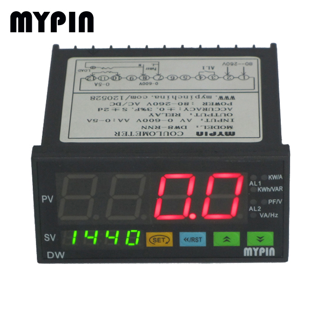 DW series 1/3 phase power parameter controller