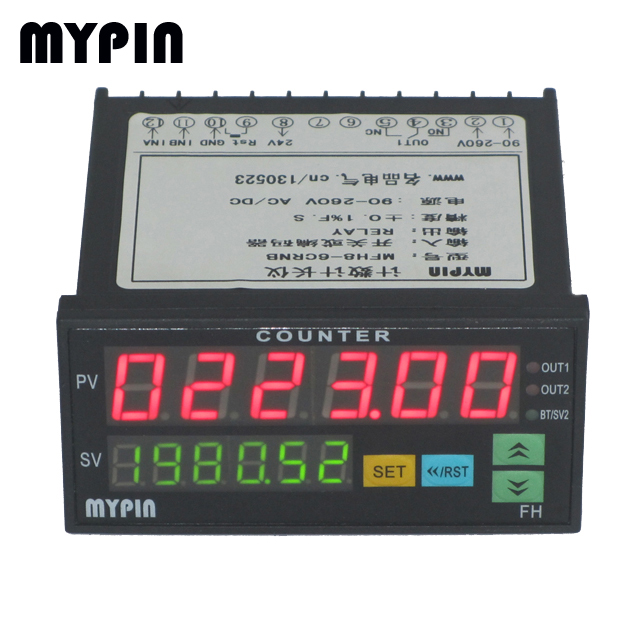 FC series multifuction controller for frequency/counting/lenght